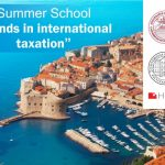 "Ljetna škola u Dubrovniku -""Trends in international taxation"""